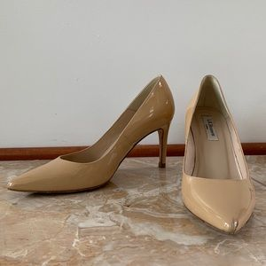 L.K. Bennett Trench Nude Point Toe Pump